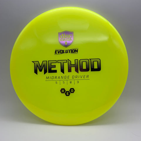 Method - Evolution Line - Neo - Yellow - 180g