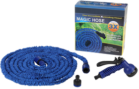 50FT Expanding Hose with Bonus Spray Nozzle