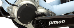 Pinion P1.18 gearbox and cranks
