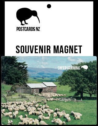 MGI097 - Sheep Scene - Magnet