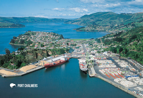 SDN463 - Port Chalmers - Small Postcard