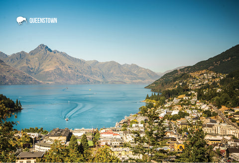 SQT831 - Queenstown - Small Postcard