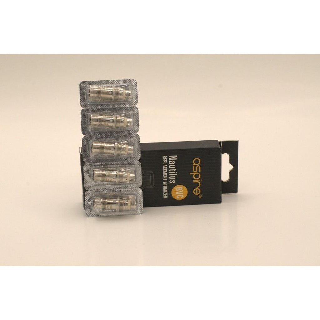 Aspire Nautilus BVC 5-Pack Replacement Coils-VapeRite.com