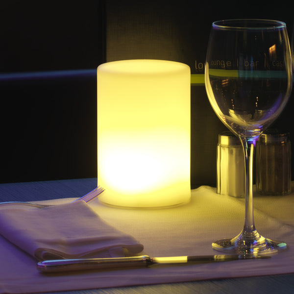 cylindro LED table lamp