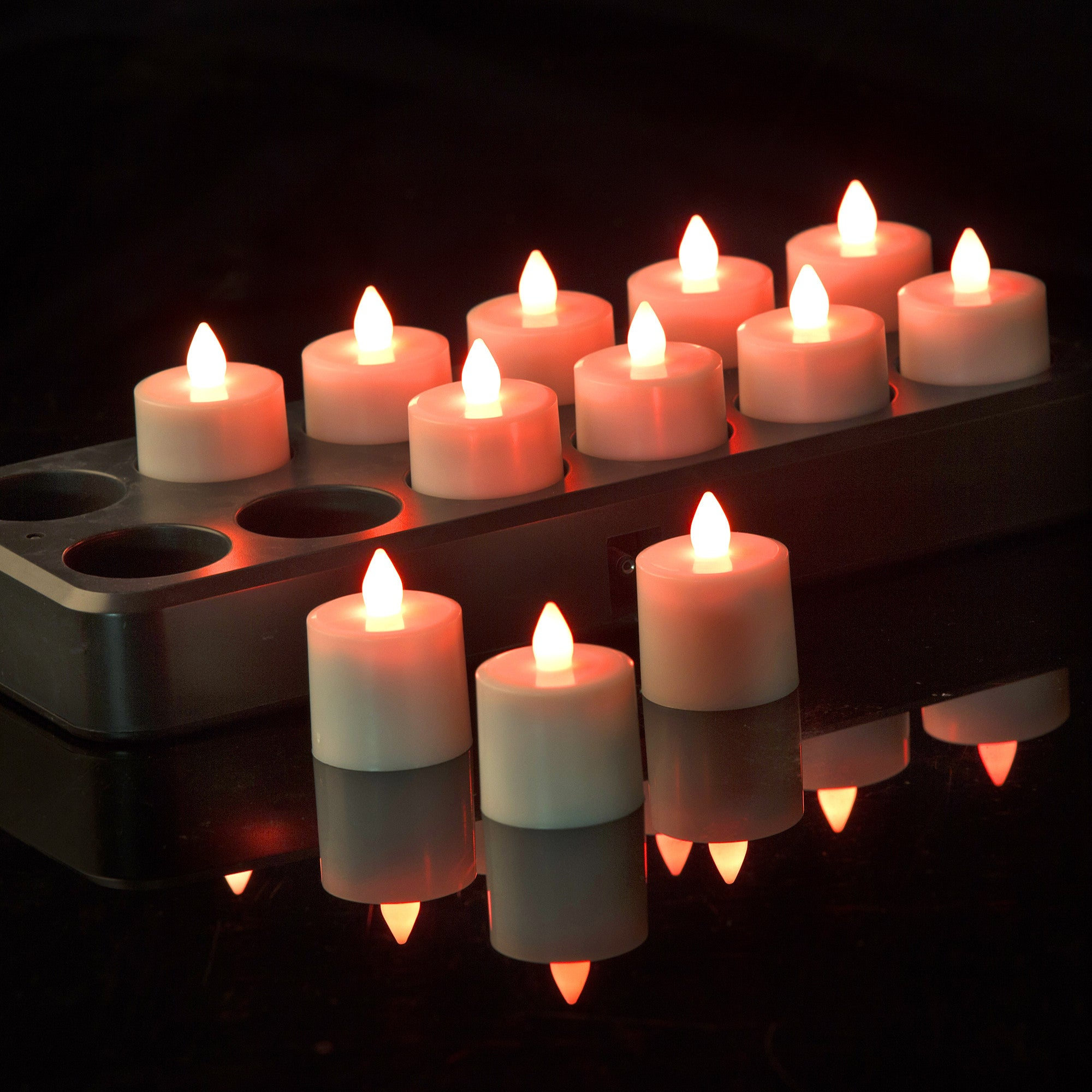 filini rechargeable tealights