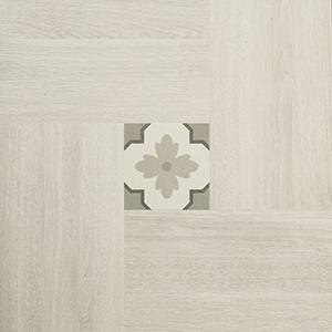 "Inside 50 Porcelain Tile | Light Deco | 20""x20"""