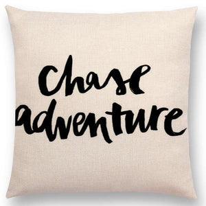 Decorative Motivational Cushion Covers