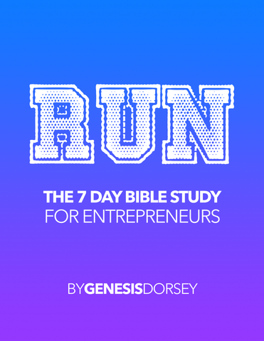 Run Entrepreneur 7 Day Bible Study (E-Download)