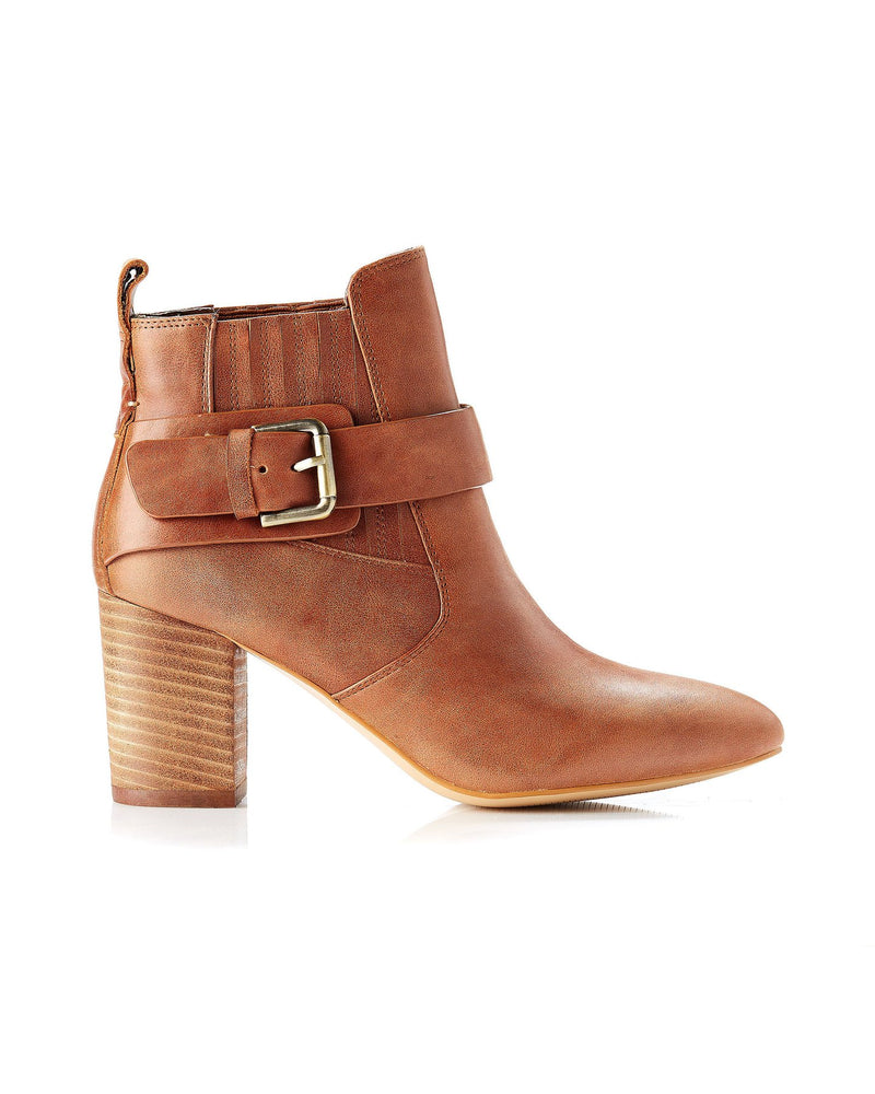 Misha Boot - Dark Tan