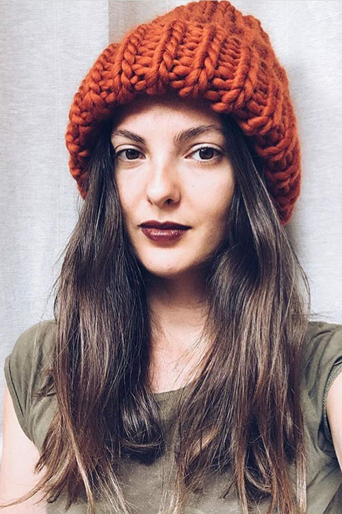 Cozy Winter Knit Hat