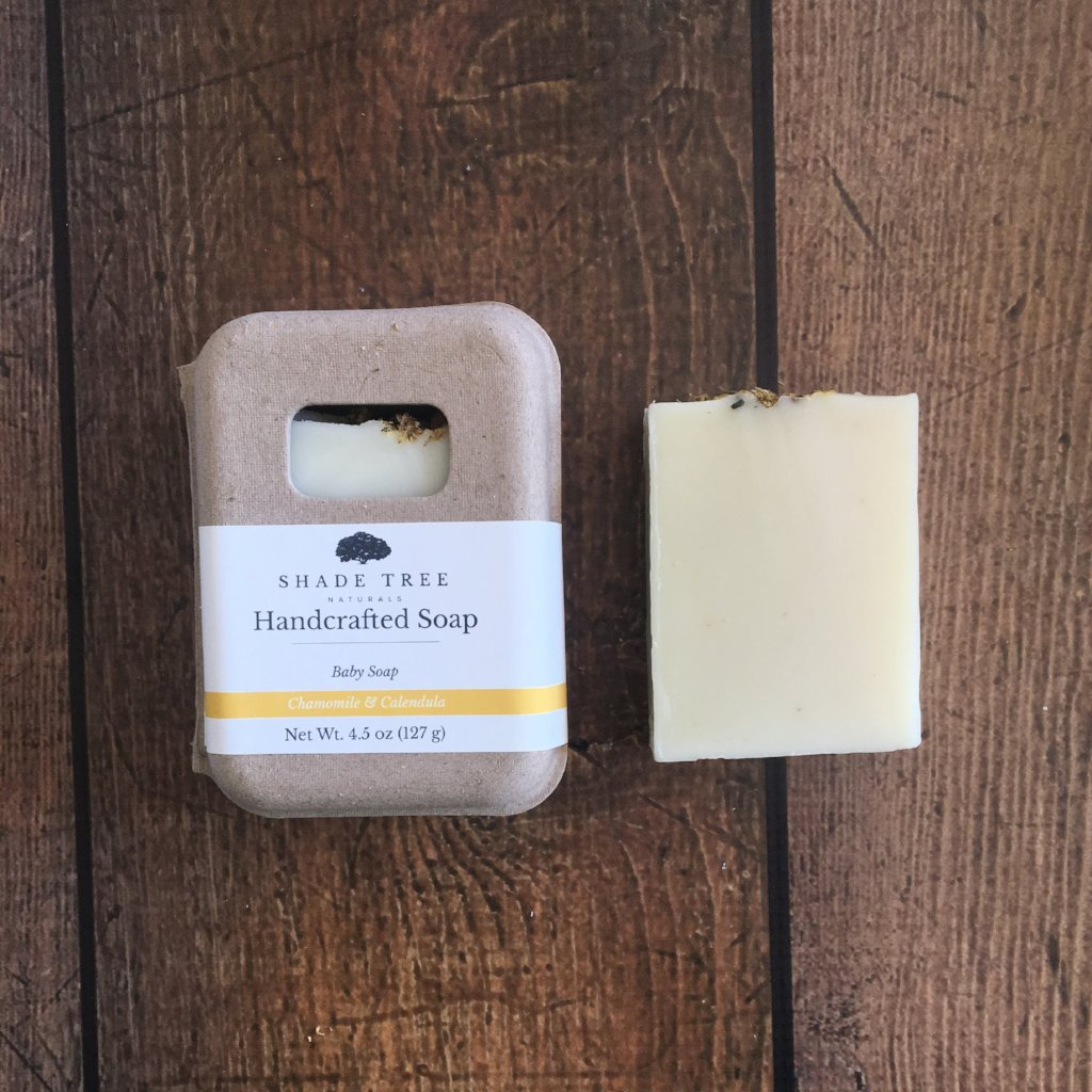 Chamomile Calendula Baby Soap (Unscented)