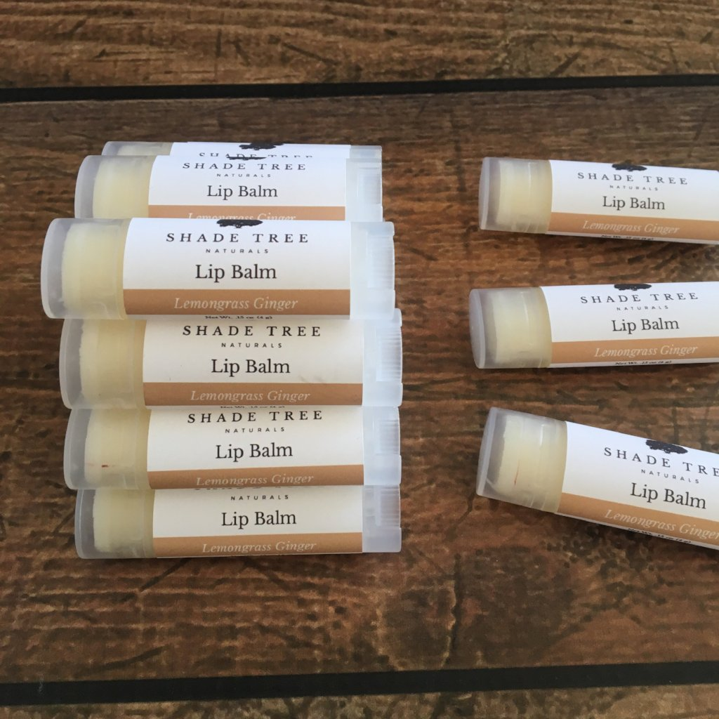 Lemongrass Ginger Lip Balm