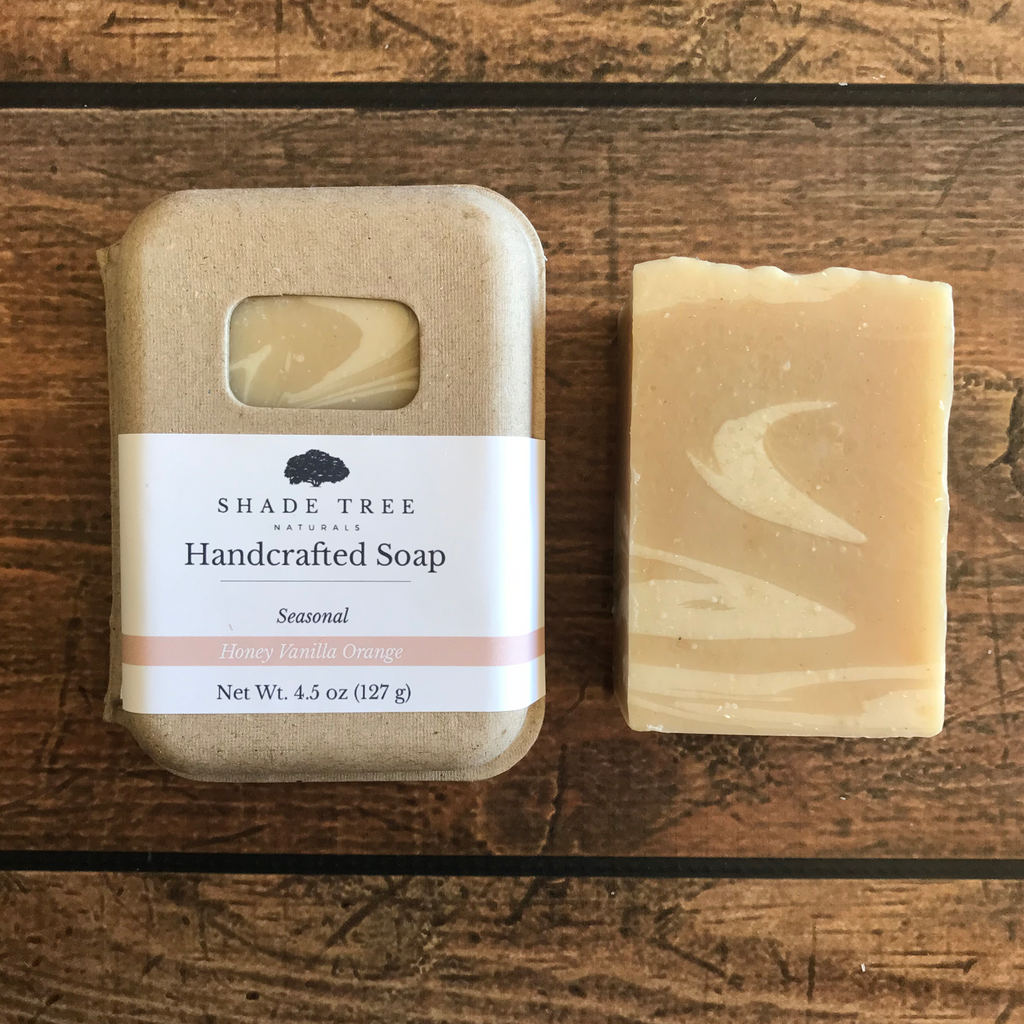 Honey Vanilla Orange Soap Sample (Seasonal)