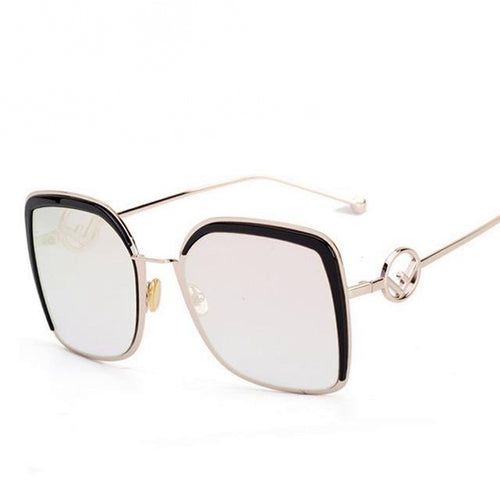 Elegant Square Sunglasses With Gorgeous Frame Decor - SleekSass