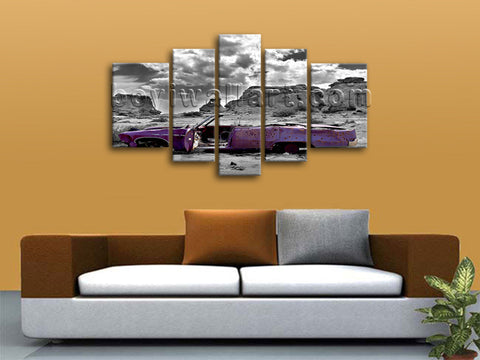 Vintage Car canvas art