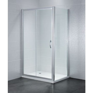 April Identiti2 Sliding Shower Doors 6mm Glass 1700mm