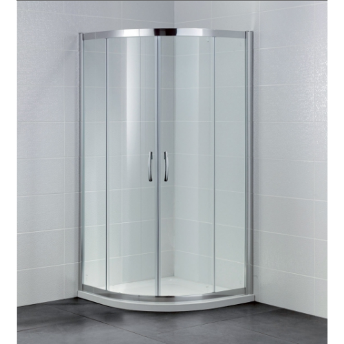 April Identiti2 2 Door Quadrant Shower Enclosure 6mm Glass 900mm