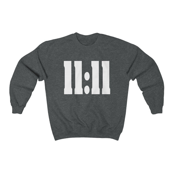 '11:11' Unisex Heavy Blend™ Crewneck Sweatshirt Sweatshirt - Lavished Collection