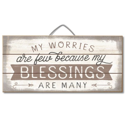 Blessings Wood Pallet Sign
