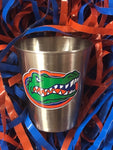 Florida Gator Stainless 2 oz. Shot Cup