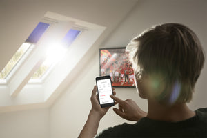 control blinds using Velux Active smartphone app
