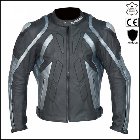 Motorcycle Leather Armour Jacket