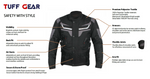 Tuff Gear Motorcycle Textile Jacket