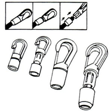 Load image into Gallery viewer, FPH Hooks & Eyelets - Plastic