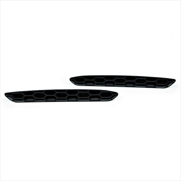 Acexxon Honeycomb Rear Reflector Inserts Gloss Black BMW F87 M2