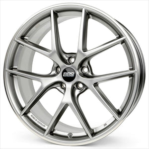 BBS CI-R Platinum Silver Wheel 20x9 5x112 25mm