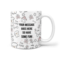 personalized dog coffee mugs