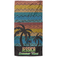 personalised beach towels