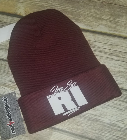 I'M SO RI beanie - swagger4you
