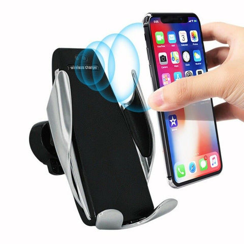 Wireles Charging Dash/Window Mount w Auto Clamp - swagger4you
