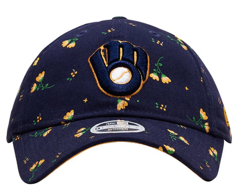 Milwaukee Brewers floral - swagger4you