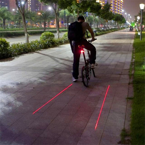BIKE LIGHT/LANE PROJECTOR - swagger4you