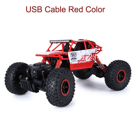 Image of Remote Control Truck 4x4 Off Road Rock Crawler - swagger4you