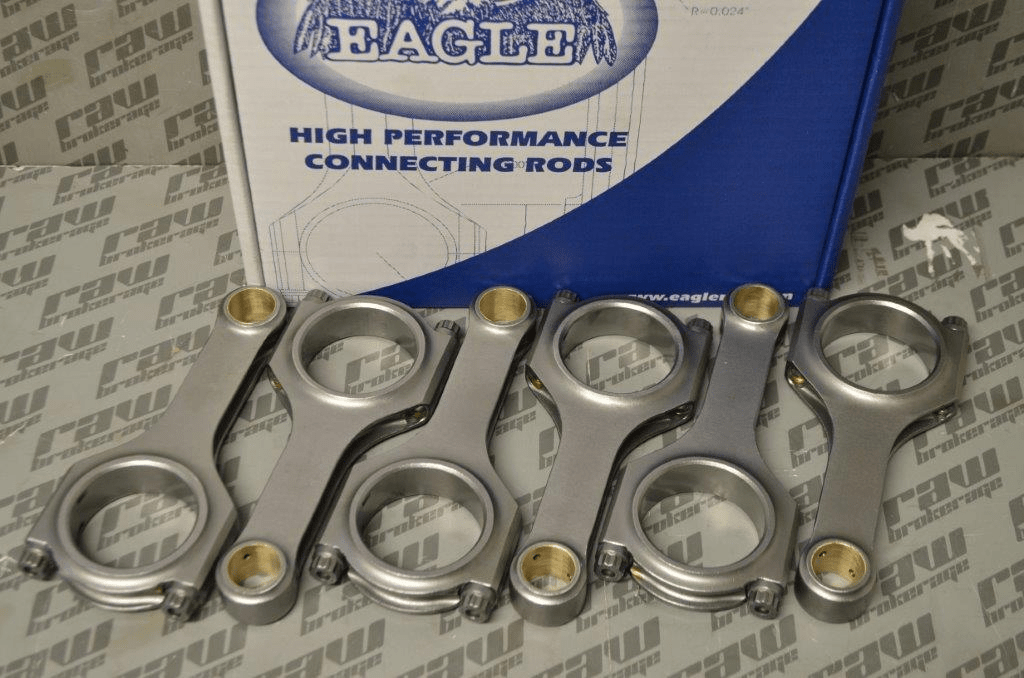 Eagle CRS4783N3D ESP H-Beam Forged Connecting Rods - RB25 RB26
