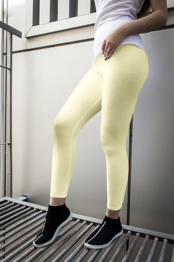 racé CURIE LEMON low waist legging