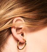 GRAND MALAI Earrings Gold