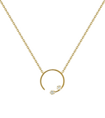 VELA Necklace Gold