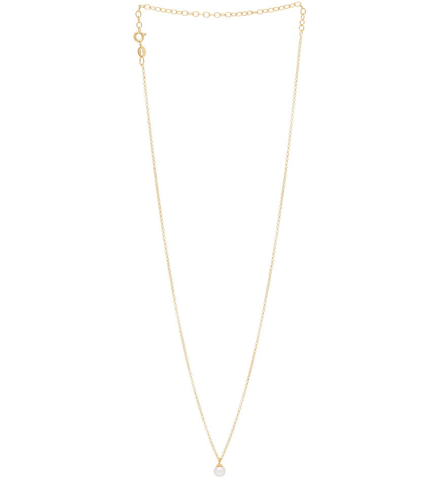 Freshwater Pearl 0102 Necklace Gold