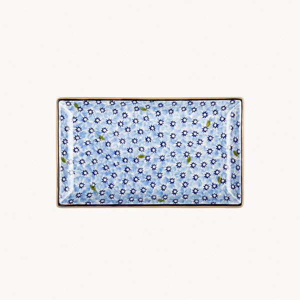 Rectangle Dish - Lawn Light Blue