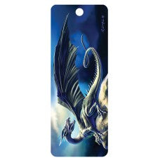 3D Bookmark - Black Dragon