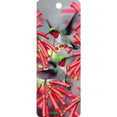 3D Bookmark - Humming Birds