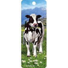 3D Bookmark - Daisy Cow