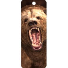 3D Bookmark - Grizzly Bear