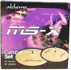 Alchemy MSX Cymbal Mini-Set