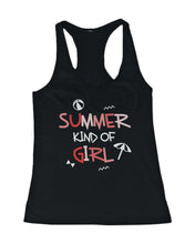 Load image into Gallery viewer, Summer Kind Of Girl And Guy Funny Design Matching Couple Tank Tops