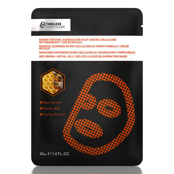 Timeless Truth Bee Venom & Royal Jelly Bio-Cellulose Mask - MyBeautyBar.co.uk